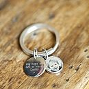 Personalised Family Key Ring