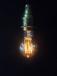 Vintage Fourloop Lightbulb