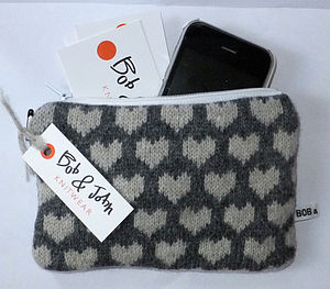 Knitted Purse - purses & wallets