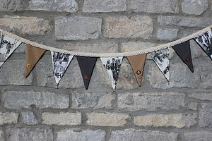 Personalised Photo Bunting - outdoor decorations