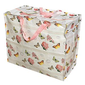 Botanical Print Large Storage Bag - shop by price