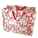 Red Paisley Storage Bag