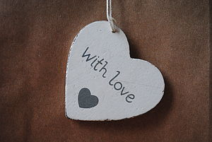 With Love Gift Bag And Tag - wedding favours