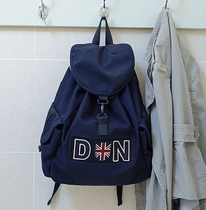 Personalised Back Pack - women's accessories