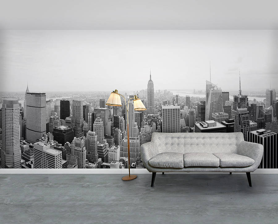 Good New York City Self Adhesive Wallpaper Mural Part 17
