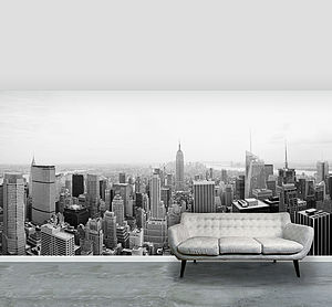 New York City Self Adhesive Wallpaper Mural - wallpaper