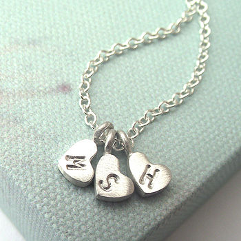 Personalised Little Love Heart Necklace
