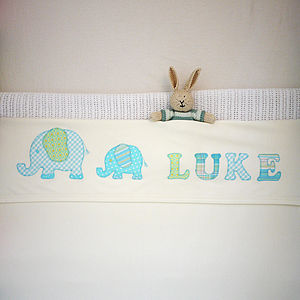 Personalised Cotton Baby Blanket - blankets, comforters & throws