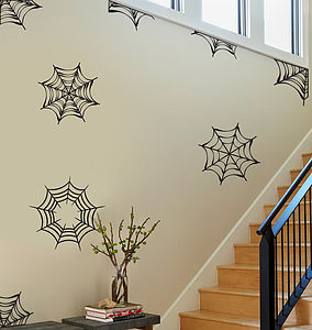 Halloween Web Wall Sticker Pack - wall stickers