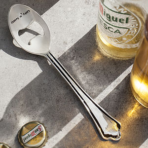 Cheers M'dears Spoon Bottle Opener
