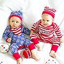 Babygrow, Hat And Bib Gift Set