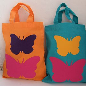Children's Pink Butterfly Bag - bags, purses & wallets