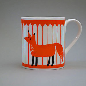 Fox Mug - crockery & chinaware