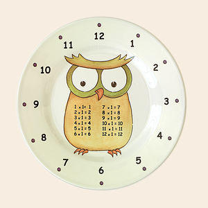 Set Of Early Years Times Table Plates