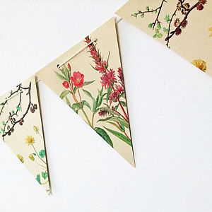 Spring And Summer Bunting - room decorations