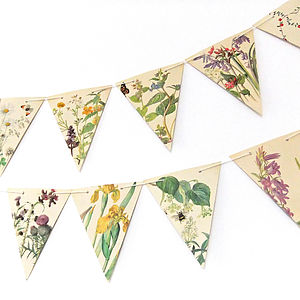 Spring And Summer Bunting - outdoor decorations