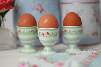 Candy Mint Ceramic Egg Cup