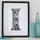 Best Of Islington Screenprint