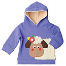 Sheila The Sheep Fleece Hooded Sweatshirt