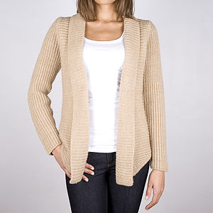 40% Off Cage Chunky Knit Cardigan
