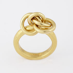 Gold Knot Ring - rings