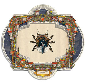 Queen Beetle Art Assemblagé