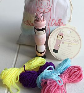 Child's Knitting Doll - traditional toys & games