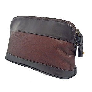 Corporate Gift Leather Wash Bag