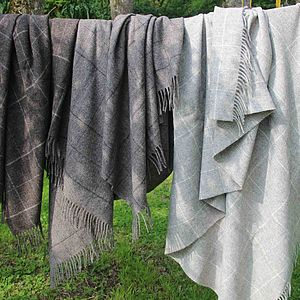 Hebridean Throw - throws, blankets & fabric