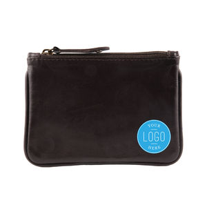 Corporate Gift Unisex Leather Coin Purse - purses & wallets
