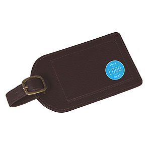 Corporate Gift Leather Luggage Tag