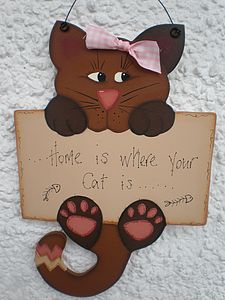 Personalised Cat Sign - home accessories