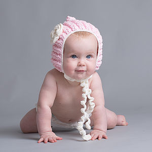 Hand Made Baby Girl's Pixie Hat