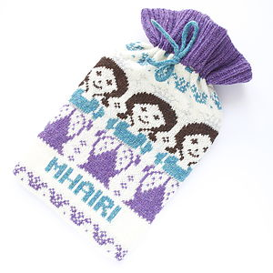 Personalised Princess Fairisle Bottle Cosy