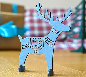 Christmas Reindeer Table Decorations - decorative accessories