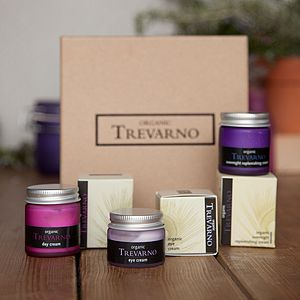 Organic Luxury Facial Gift Set - gifts for grandparents