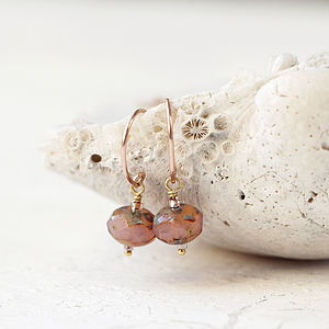 Rose Gold Earrings - earrings