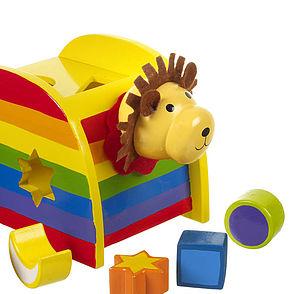 Rainbow Lion Shape Sorter - toys & games for children