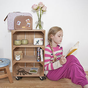 Apple Crate With Two Shelves - furniture