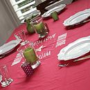 'With Love' Tablecloth