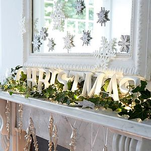Artificial English Ivy Garland - outdoor decorations