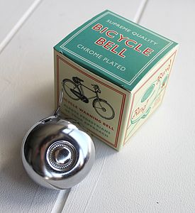 Vintage Style Bicycle Bell - gifts for cyclists