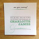 Charlotte Wedding Stationery Collection