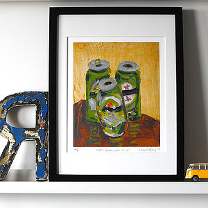'Three Down, One To Go' Fine Art Print - still life
