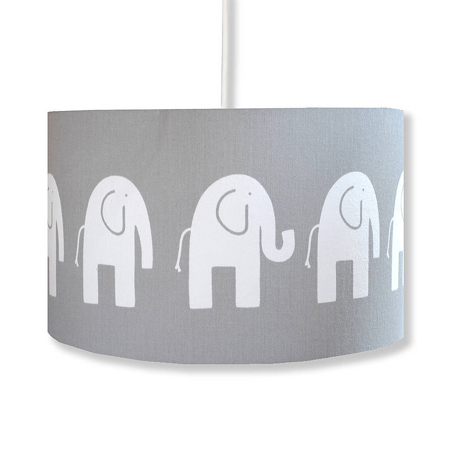 handmade retro elephant lampshade by hunkydory home ...