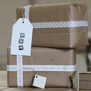 Roll Of Brown Paper - ribbon & wrap