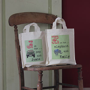 Personalised Name Party Bag