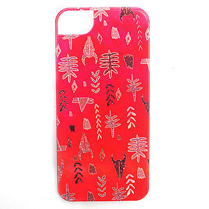 Tribal Sparkle Case For The iPhone Five - bags & purses