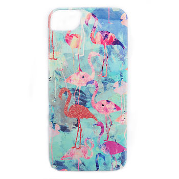 Flamingo Party iPhone 5/5S Case