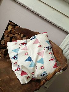 Vintage Bunting Cushion Cover - cushions